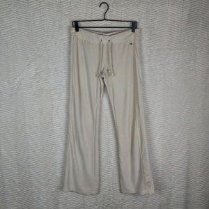 Victoria's Secret Angels Cream Velour Pants Sz S